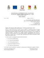 circ. n° 247 concorso Tricolore Vivo