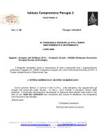 99 - sciopero del 26 marzo 2015 - Istituto Comprensivo Perugia 3