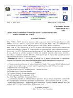 Prot. n. 1031/A19 Manocalzati 12/03/2015 Al personale Docente Al