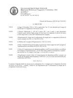 Università degli Studi di Napoli Federico II Dipartimento Strutture per