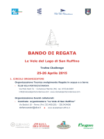 Bando di Regata San Ruffino 2015