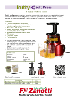 Estrattore succo frutty soft press, innovativa e semplice
