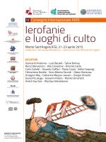 Monte Sant`Angelo (FG), 21-23 aprile 2015