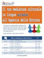 locandina mediatori culturali arabo
