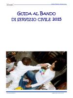 Guida al Bando volontari 2015