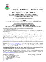 Avviso pubblico - Comune di Gonnoscodina