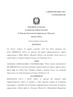 pdf La sentenza 250/2015 del Tar Piemonte - Enti Locali
