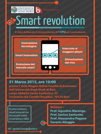 31 Marzo 2015, ore 10:00 - Università degli Studi di Bari