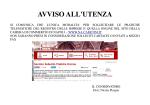 AVVISO UTENZA SOLLECITI - Camera di Commercio di Napoli