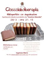 Cioccolatoterapia - Biblioaperitivo con degustazione