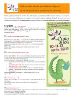 Festival della lettura per bambini e ragazzi 10-11