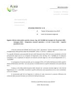 Istruzioni operative n. 20 del 23 marzo 2015