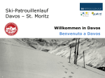 Ski-Patrouillenlauf Davos – St. Moritz - Verein Ski