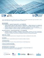 PROGRAMMA Prima sessione – martedì 14 aprile 2015