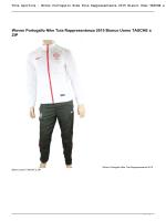 Tute sportive : Woven Portogallo Nike Tuta Rappresentanza 2015