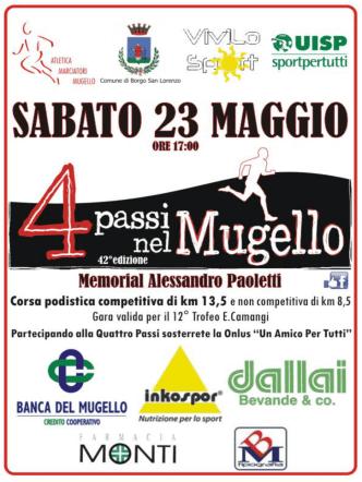 23 maggio 4 Passi nel Mugello - Borgo San Lorenzo