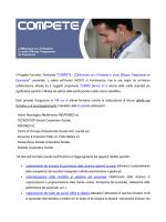 """Il Progetto Formativo Territoriale """"COMPETE - COMunicare con"""