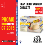 Flan light vaniglia 20 buste