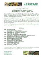 ASSOERBE Convegno a EXPO 2015 Milano 21 maggio