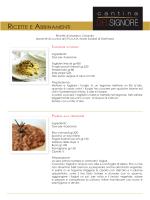 ricette cantina DELSIGNORE