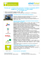 Programma visita in Alto Adige: energia rinnovabile ed efficienza