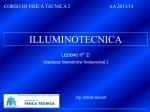 Lezione 2 - Laboratorio di Fisica Tecnica