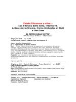 Programma - Castello Sforzesco