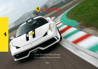 Corsi di Guida Pilota Ferrari