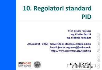 CA_10_PID - ARScontrol