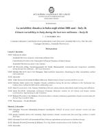 Programma - Accademia Nazionale dei Lincei