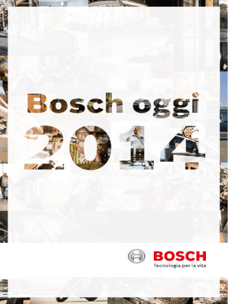Bosch oggi
