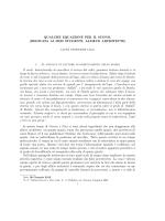 Equazioni differenziali, corda vibrante
