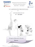 Regolamento 8° Trofeo Bresciano Karate