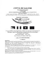 CITTA Dt SALEMI - Comune di Calatafimi Segesta