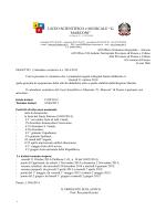 """LICEO SCIENTIFICO e MUSICALE """"G. MARCONI"""""""