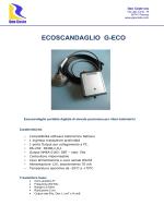 ECOSCANDAGLIO G-ECO