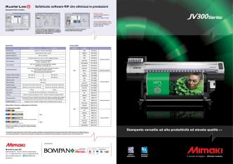 Brochure Mimaki serie JV300
