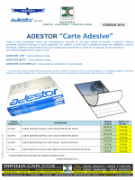 "ADESTOR ""Carte Adesive"""