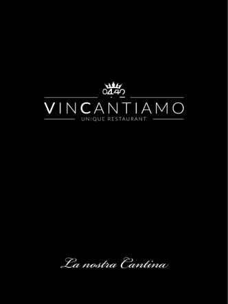 Carta Vini - RISTORANTE 0442 VINCANTIAMO