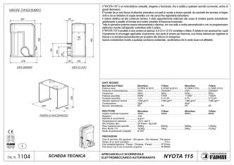 Bollettino n. 43 - Servizio Agrometeorologico Regione Puglia