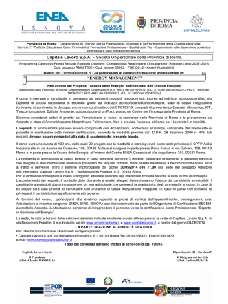 BRONTE Prot. n. 1410/C37 Bronte 26/03/2015 Al Presidente e ai