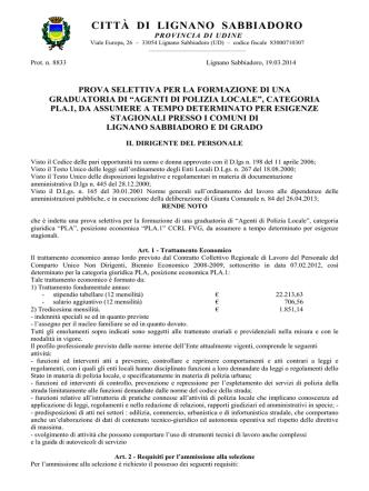 CIRCOLARE INTERNA N. 334