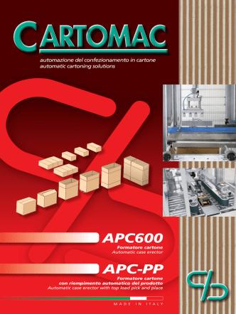 APC600 APC-PP - Cartomac srl