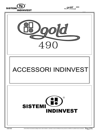 Accessori 490 - LAMURA metalli