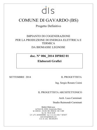 COMUNE DI GAVARDO (BS)