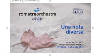 brochure programmazione autunno 2014