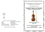 Programma saggio 30 mag 14 violino