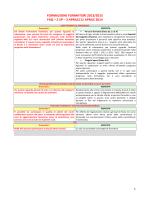 FORMAZIONE FORMATORI 2013/2015 FAQ – 2 SP – 3 APRILE/11