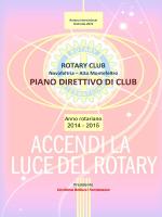 Anno 2014-2015 - Rotary Club Novafeltria