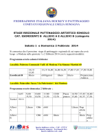 Programma raduno Modena 1 - 2 febbraio